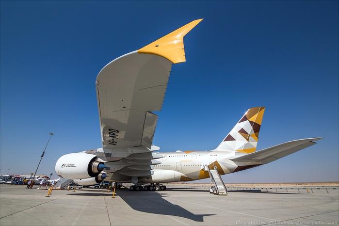самолет Etihad Airways из Арабских Эмиратов 1 (700x466, 245Kb)