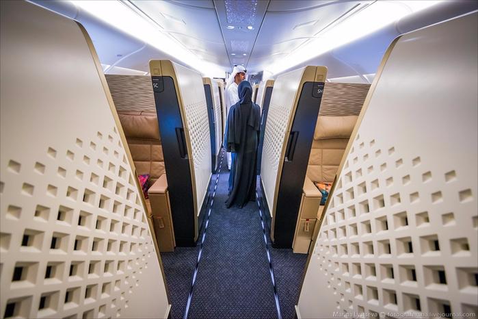 самолет Etihad Airways из Арабских Эмиратов 3 (700x466, 324Kb)