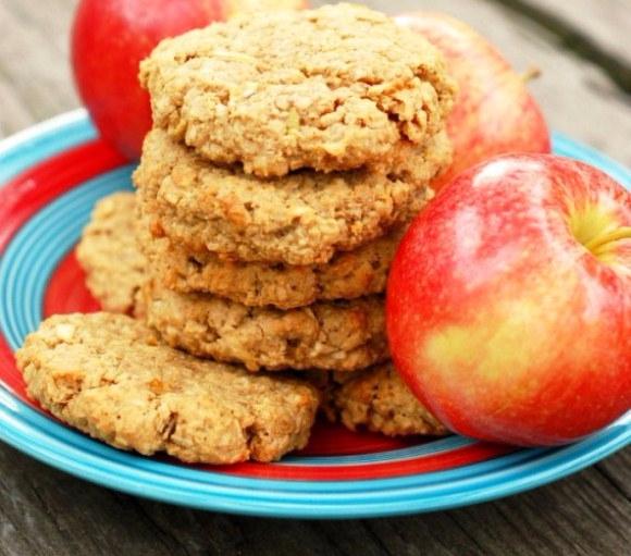 Творожное печенье с яблоками рецепт пошагово