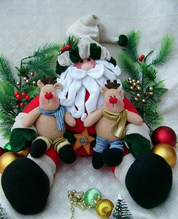 Санта клаус своими руками сшить