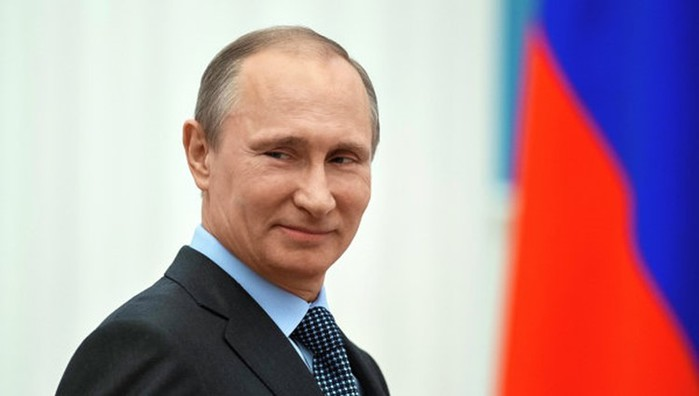 Путин подарил велосипед пятикласснице из Болотного