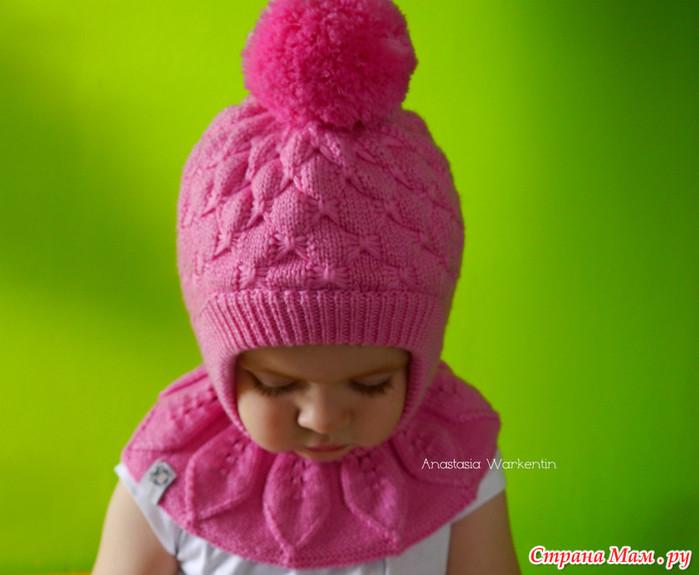 Детские шапочки для девочек вязанье