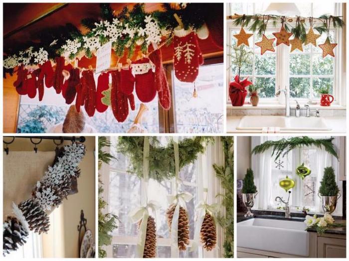 Как украсить дом своими руками на новый год фото