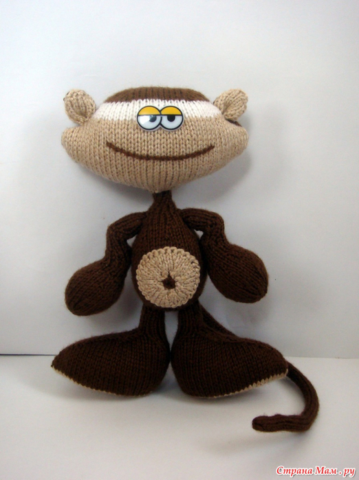 Поделки обезьяна своими руками к новому году