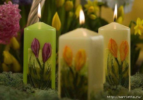 Пасхальные свечи. Для любования (8) (500x350, 90Kb)