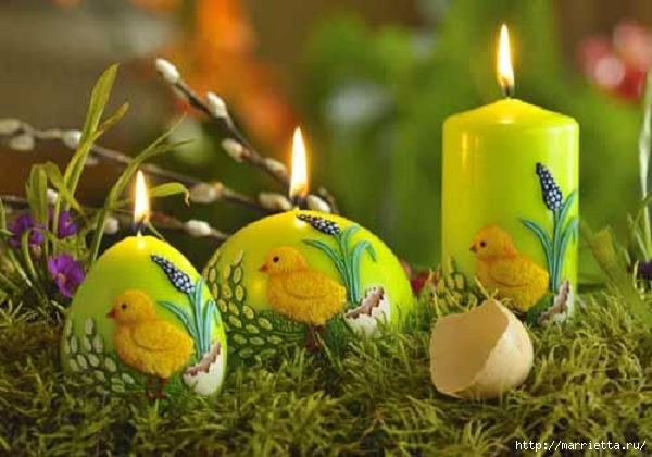 Пасхальные свечи. Для любования (10) (600x420, 154Kb)