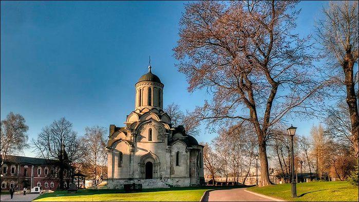 Церковь Спаса Нерукотворного Спасо-Андроникова монастыря