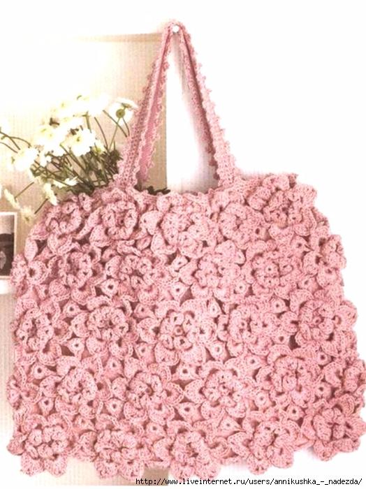 bolso de flores diagrama patron crochet (1) (524x700, 273Kb)
