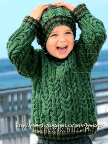 svyazat-obemnyy-detskiy-pulover-v-obraznym-vyrezom-shapka-pomponom-dlya-detey-foto_1 (361x480, 176Kb)
