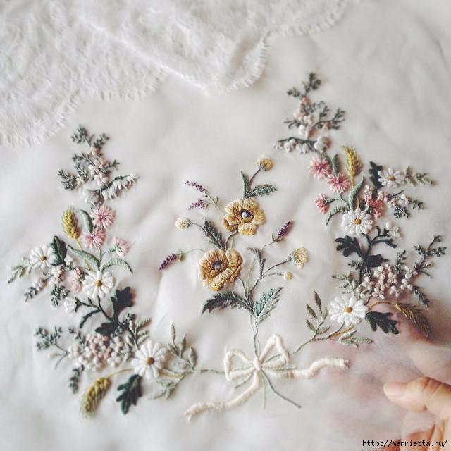 Свадебное платье с вышивкой. Нежная идея (7) (640x640, 171Kb)
