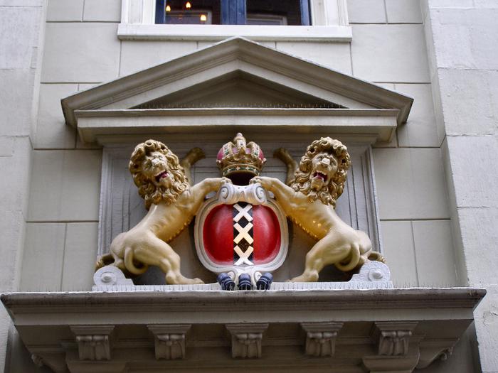Амстердам (Нидерланды) - Три креста (700x525, 460Kb)
