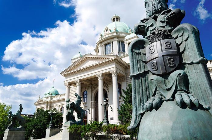 Белград (Сербия) - Сава центр (700x463, 433Kb)