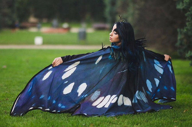 плащи в форме крыльев бабочек 3 (670x443, 227Kb)