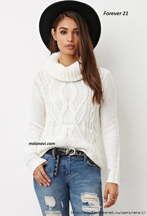 Вязаные-пуловеры-спицами (476x700, 217Kb)