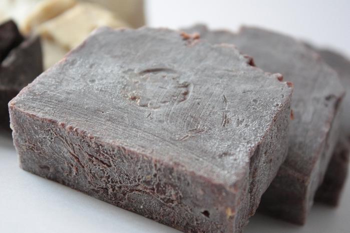 Натуральное мыло с шоколадом Брауни - nonna-smetanina