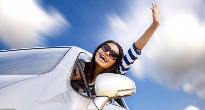 Что поможет женщине устранить маленькие проблемы своего автомобиля (1) (700x376, 184Kb)
