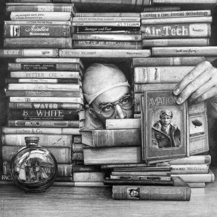 рисунки карандашом Итан Мурроу 2 (700x699, 353Kb)