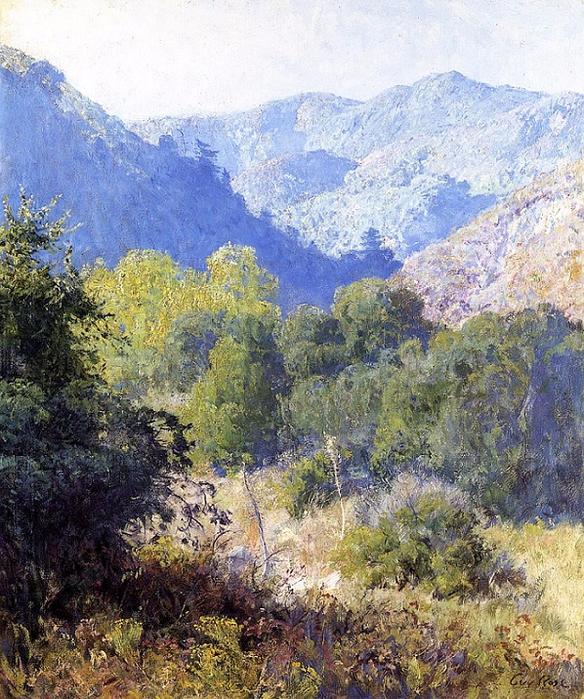 View in the San Gabriel Mountains (584x700, 582Kb)