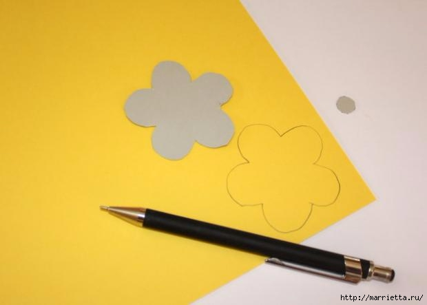 Корзинка из бумаги для пасхального яйца. Творчество с детьми (5) (620x443, 52Kb)