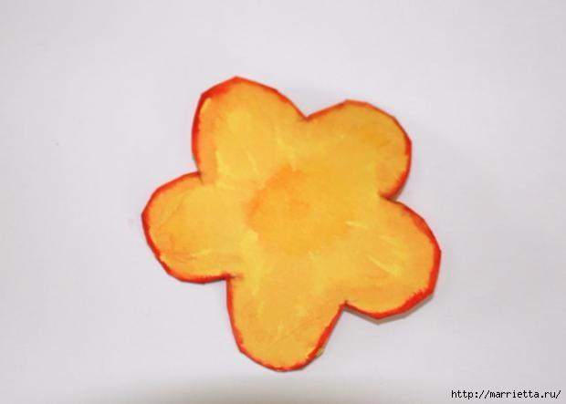 Корзинка из бумаги для пасхального яйца. Творчество с детьми (9) (620x443, 53Kb)