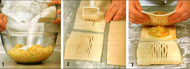 Рецепт из замороженного слоеного теста пошагово