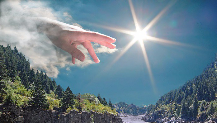 the_hand_of_god_by_thedookie1 (697x395, 302Kb)