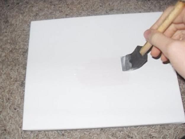 Нанесение фото на холст своими руками