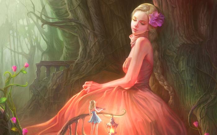 oboi-na-stol.com-211141-fantastika-art-devushka-feya-skripka-les-fonar-cvety (700x437, 340Kb)