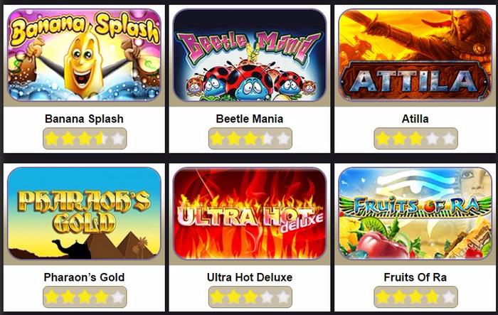 Онлайн казино с СМС оплатой