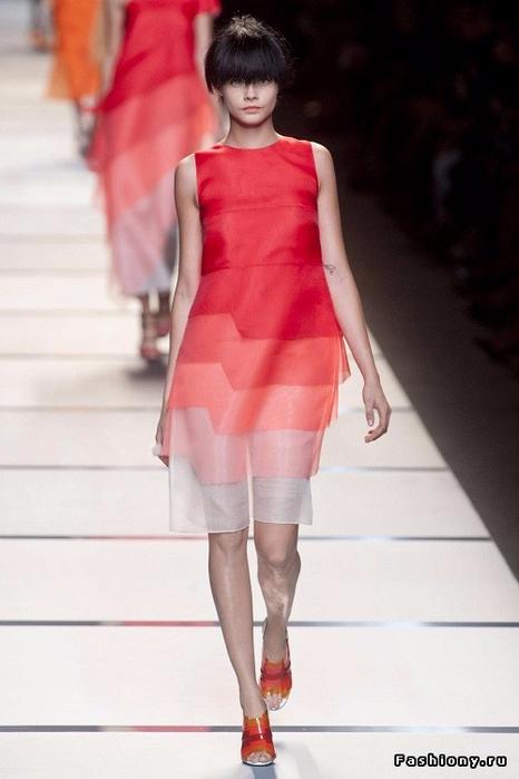 Шитье чудесное платье от fendi мастер класс