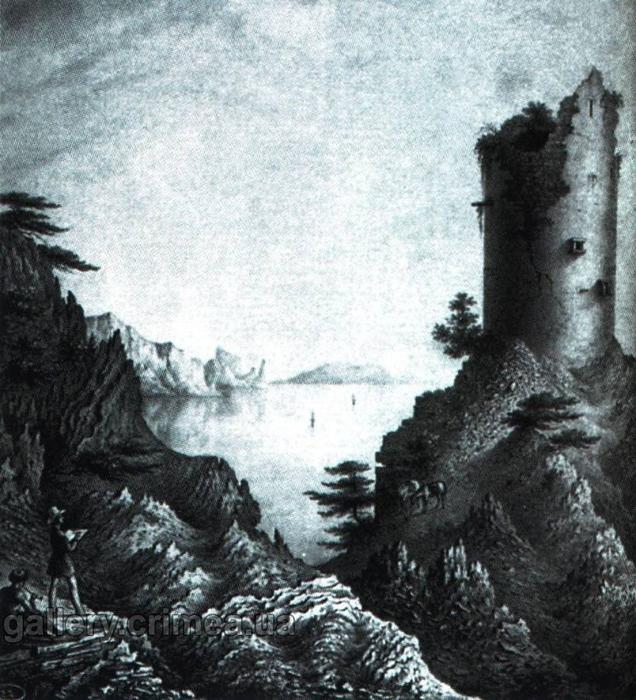 гшросс Чабан-Куле. 1846 (636x700, 420Kb)
