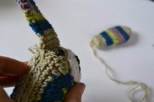 钩针教程:初学者的钩编玩具—萌兔 - maomao - 我随心动