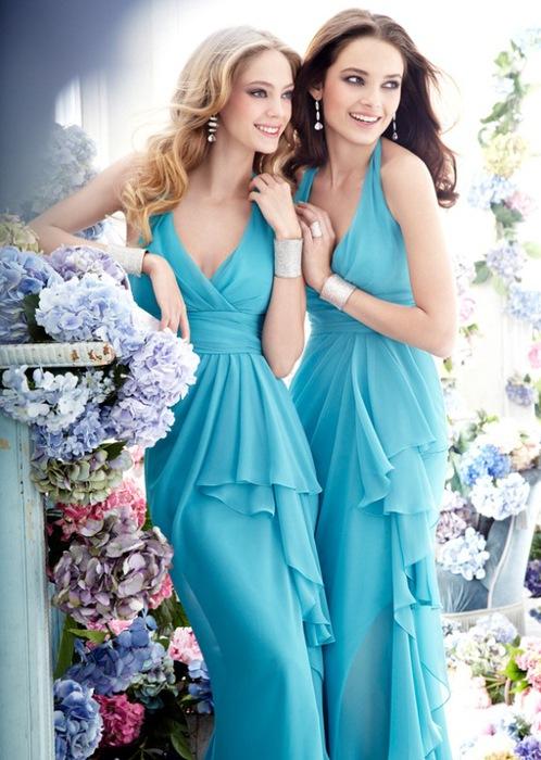 Tiffany blue bathrooms