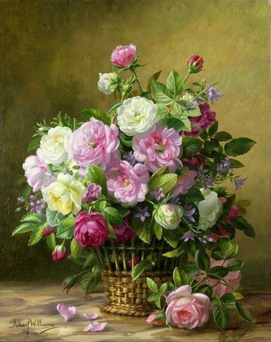 корзина роз (555x700, 119Kb)