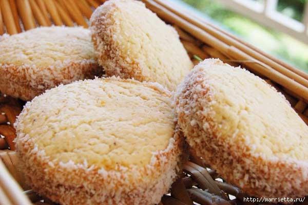 Классический рецепт печенья Alfajores argentinos (600x399, 135Kb)