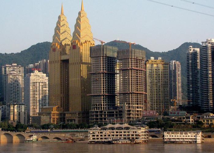 китайский город Чунцин фото 2 (700x501, 447Kb)