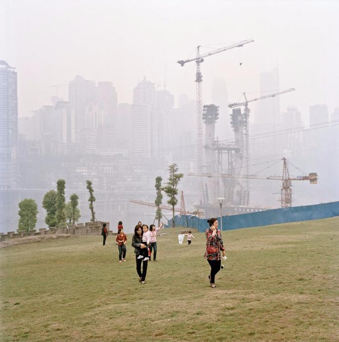 китайский город Чунцин фото 8 (694x700, 378Kb)