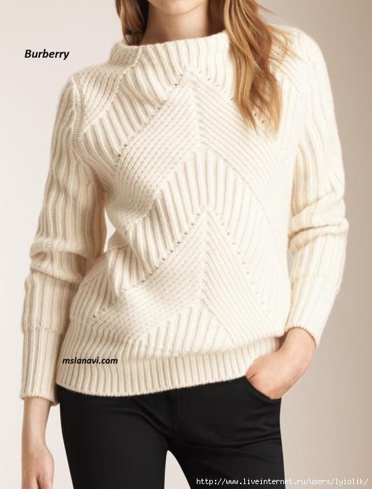 Вязаный-свитер-спицами-от-Burberry-780x1024 (533x700, 152Kb)