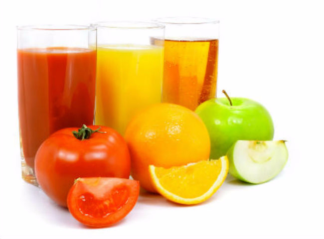 как пить свежие соки