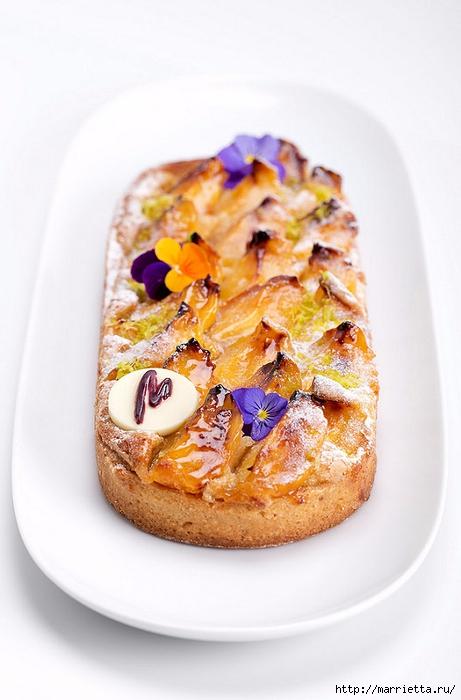 Фисташково-абрикосовый тарт. Рецепт (461x700, 195Kb)
