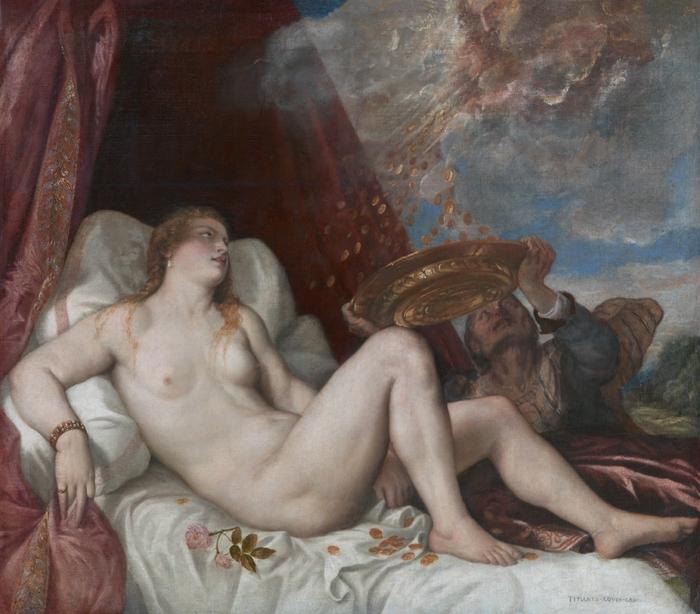 Titian.Danae01 (700x614, 296Kb)