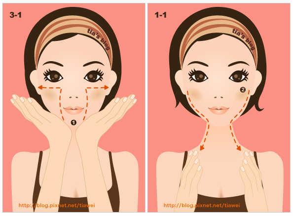 Омолаживающий Массаж Асахи (ZOGAN) для лица в картинках (6) (594x438, 128Kb)