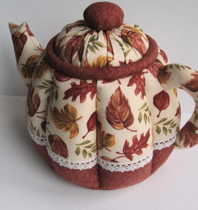 Текстильный чайник своими руками 136