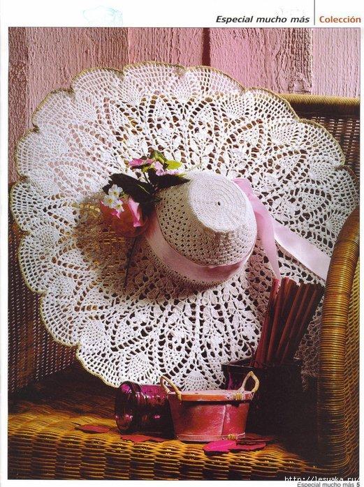 Схема шляпки вязанные крючком