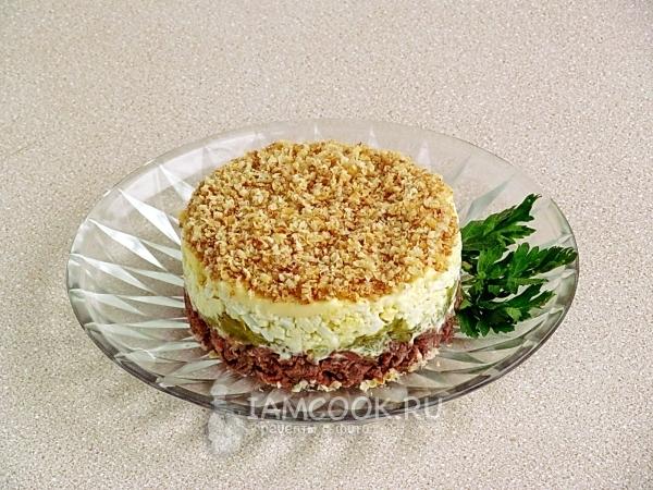 Салат мачо с говядиной рецепт с