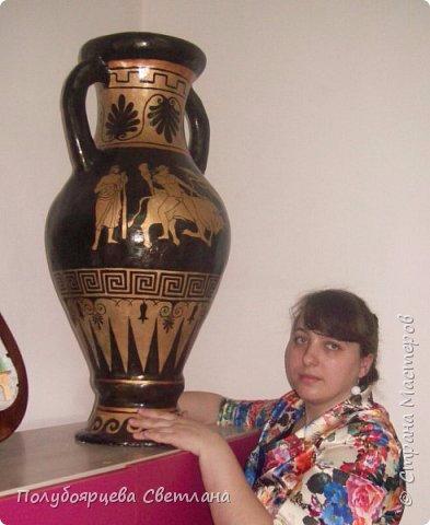 Напольная ваза из картона от Полубоярцевой Светланы (2) (393x480, 138Kb)