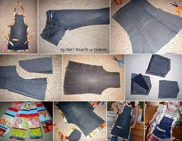 Что сшить из джинсов