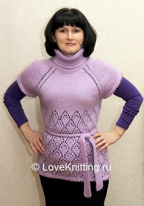01 Автор Сиренев пуловер МТ2 (489x700, 424Kb)
