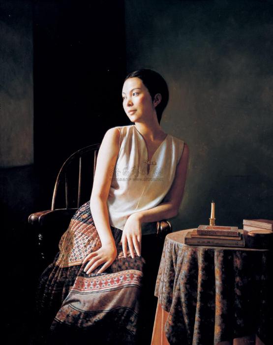 晓青(Xiao Qing)-www.kaifineart.com-3 (555x700, 292Kb)