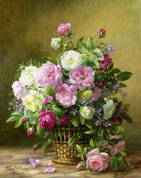Цветы в вазе - фото (555x700, 405Kb)